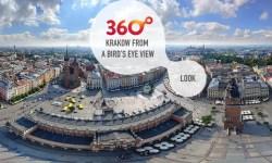 Krakow 360 graden luchtfoto - Bezoek Krakau