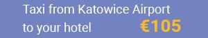 Taxi Katowice Airport naar Krakau