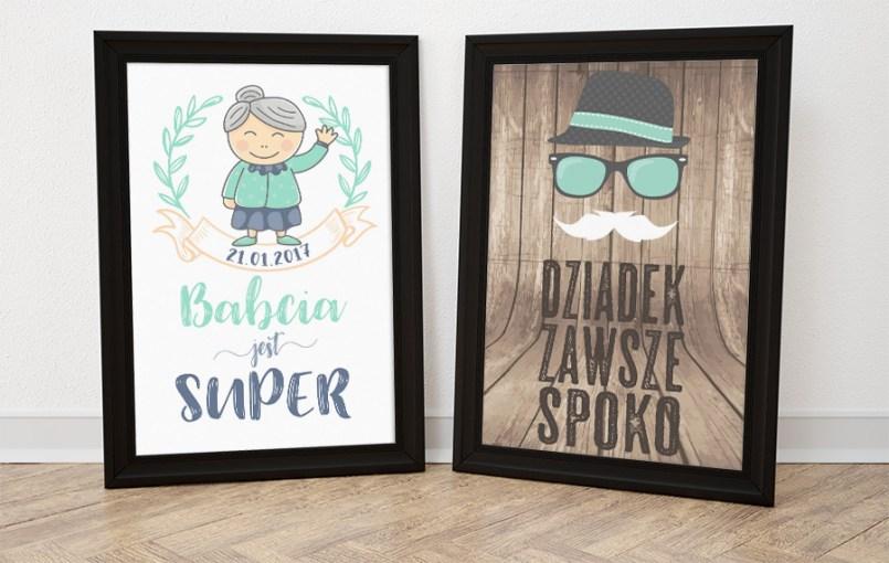 DIY: Plakaty na Dzień Babci i Dziadka do druku
