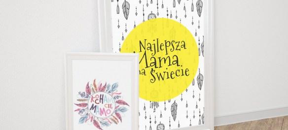 Dzień Matki - prezenty, plakaty, kartki do druku DIY