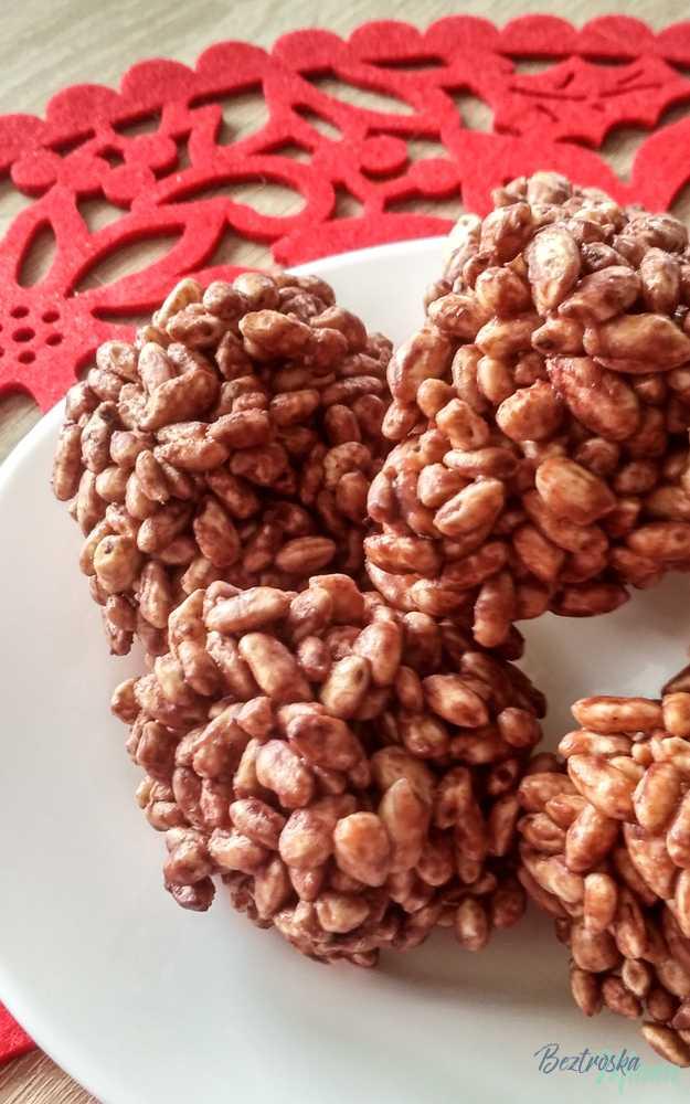 Szyszki czekoladowe z ryżu preparowanego przepis