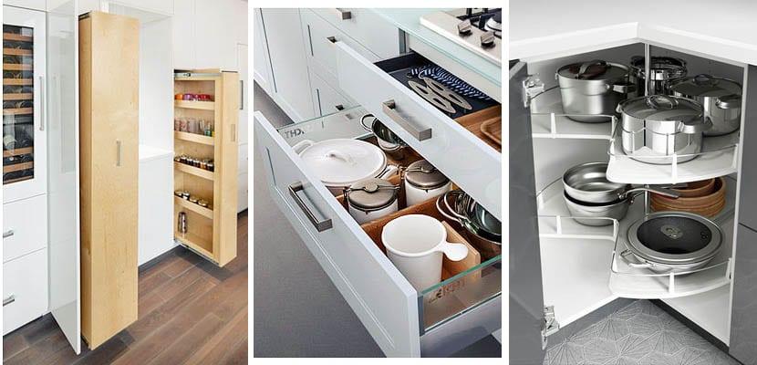 5 consejos para implementar el espacio de tus armarios de cocina