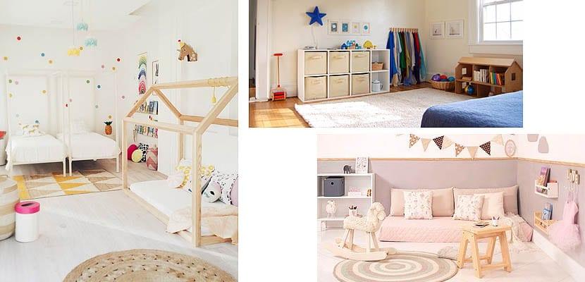 Dormitorios para beb inspiradas en los ambientes Montessori