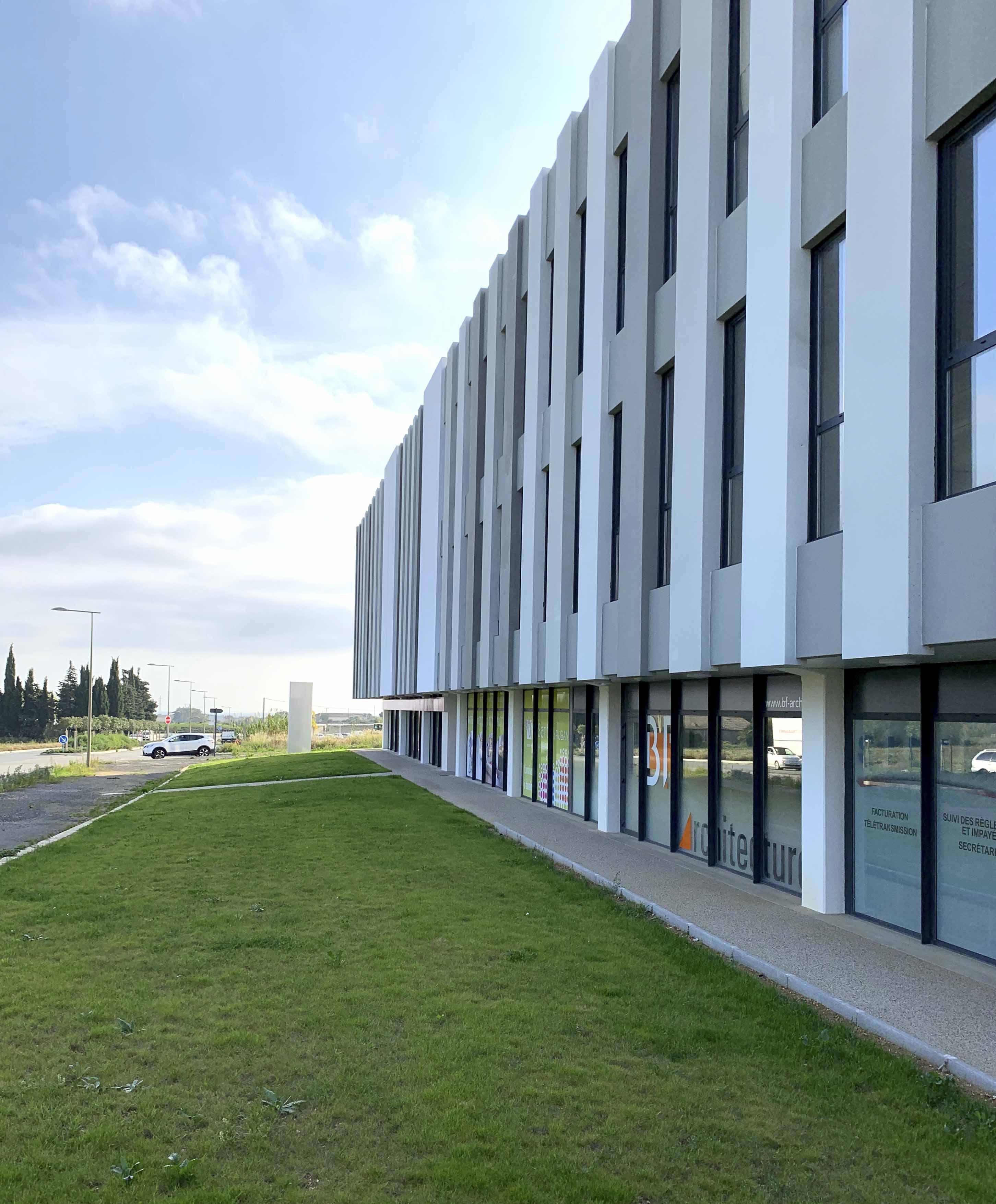 Immeuble le Ruban Béziers BF Architecture 9
