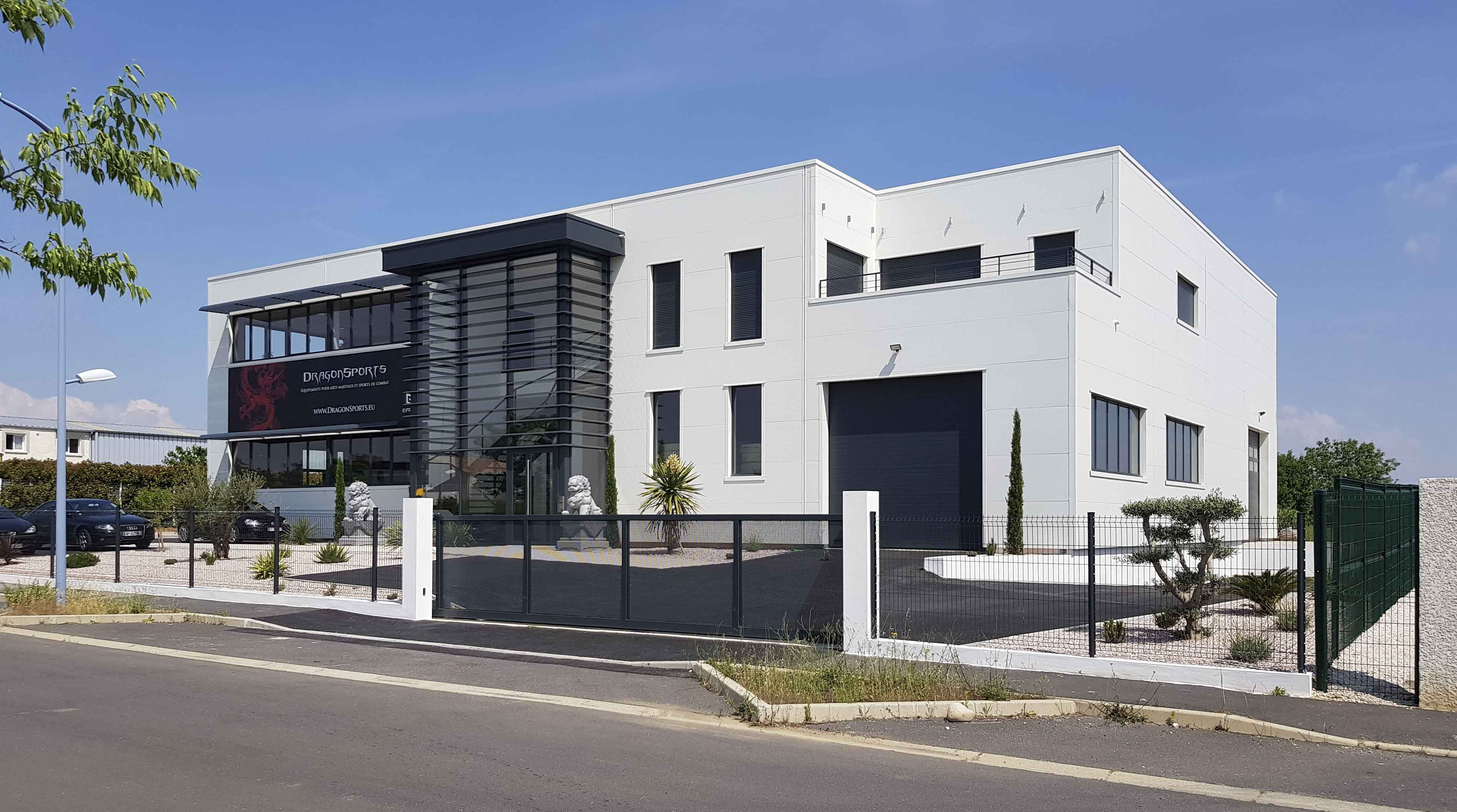 Immeuble tertiaire DragonSports BF Architecture 1