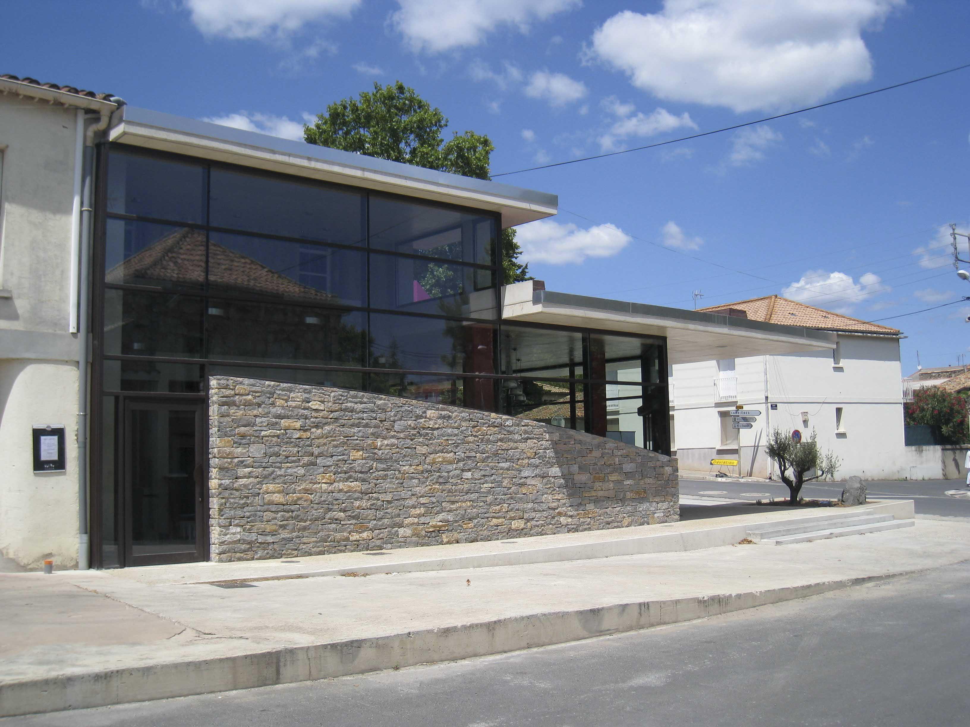 Caveau Fontès Hérault BF Architecture 5