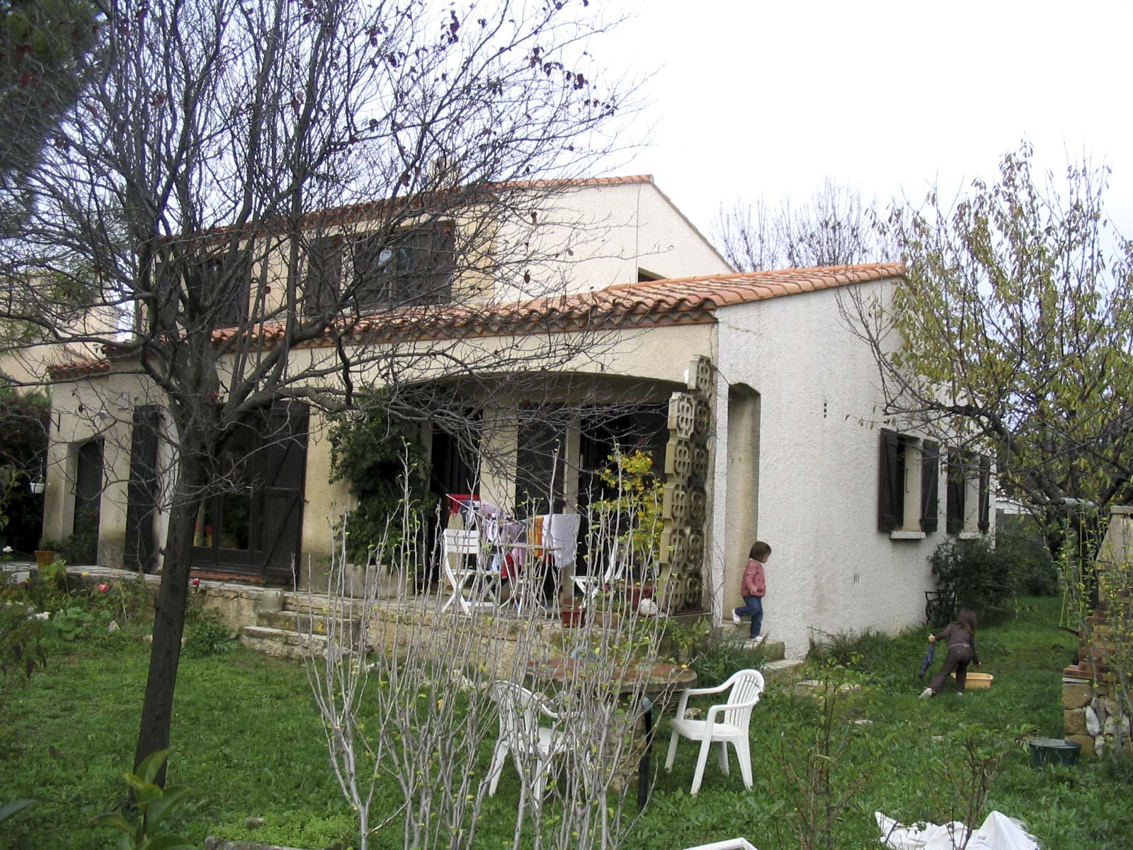 Maison individuelle réhabilitation Montpellier BF architecture 6