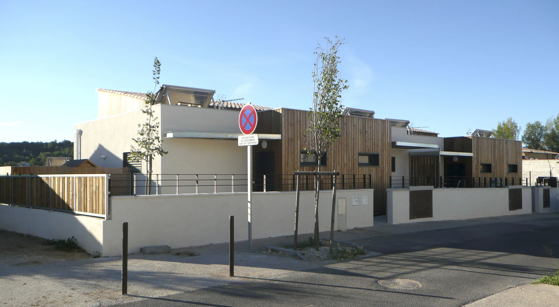 Maison mitoyenne ossature bois Hérault BF Architecture 7