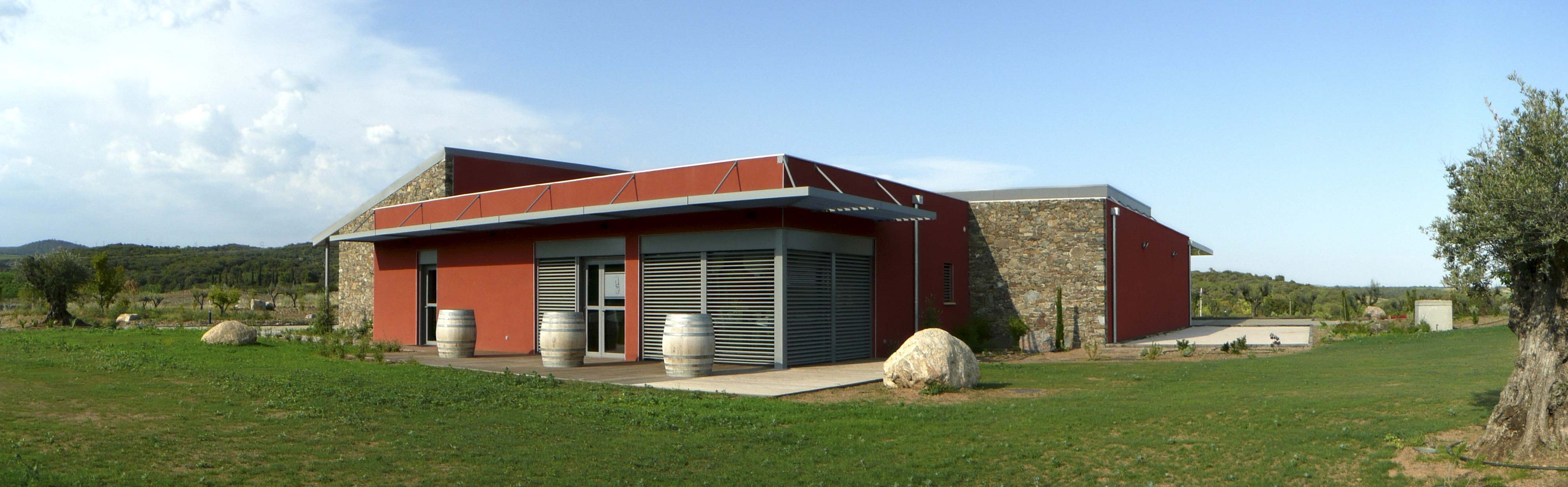 Mas Gabinele Hérault BF Architecture viticole 4