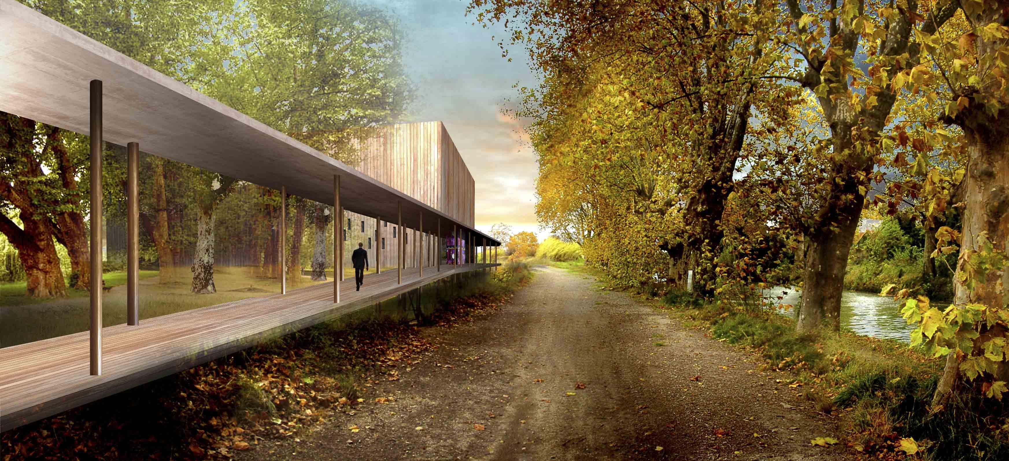 Salle de spectacle Béziers BF Architecture 1