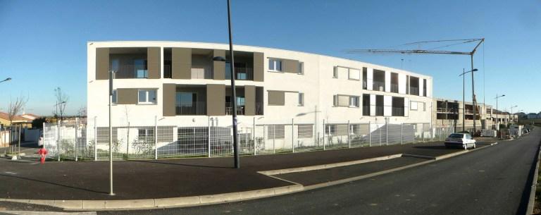 Architecture Résidence Le Verlaine Sauvian 1