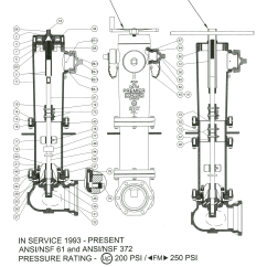 Basic Fire Hydrant Diagram Gibson Eds 1275 Wiring Mueller Topsimages