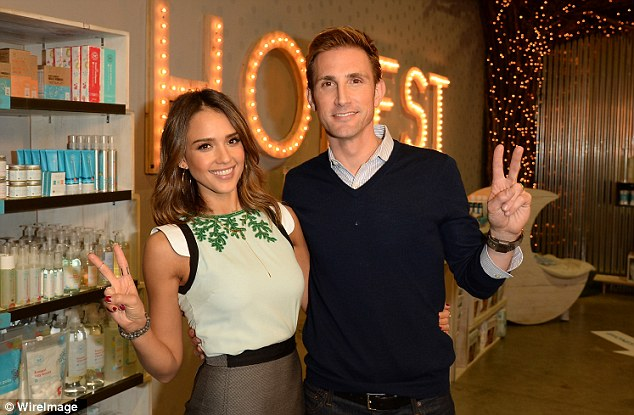 Jessica Alba and Christopher Gavigan