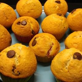 Chocolate - Raspberry Muffins