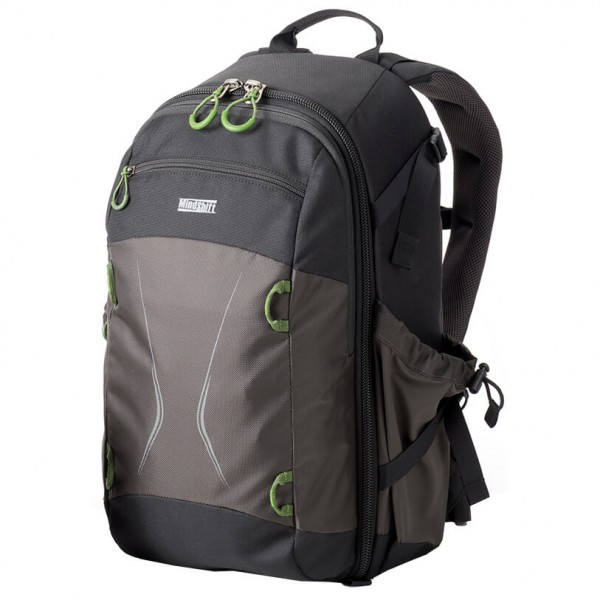 Mindshift - TrailScape 18L - Camera backpack size 18 l, black/grey Nikon D3300 24.2MP CMOS Digital SLR Camera with AF-S DX NIKKOR 18-55mm f/3.5-5.6G VR II Lens, HD 52mm Wide Angle Lens, HD 52mm Telephoto Lens, 32GB Class10 SDHC and Accessory Kit, Black [x] Nikon D3300 Bundle sol 502 2869 0111 pic1 1