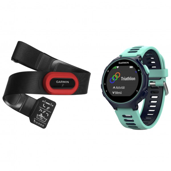 Garmin - Forerunner 735XT Run Bundle - Multi-function watch size One Size, black/grey Multiple power supply connect adapter Additional linker for Dual, Triple and more Power supply connector Multiple power supply connect adapter Additional linker for Dual, Triple and more Power supply connector sol 543 0166 0111 pic1 1