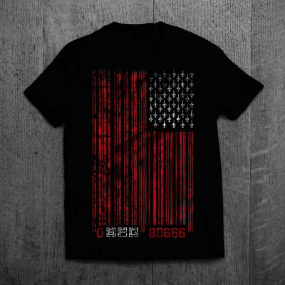 T-Shirt-MockUp_Front-bars-and-strikes
