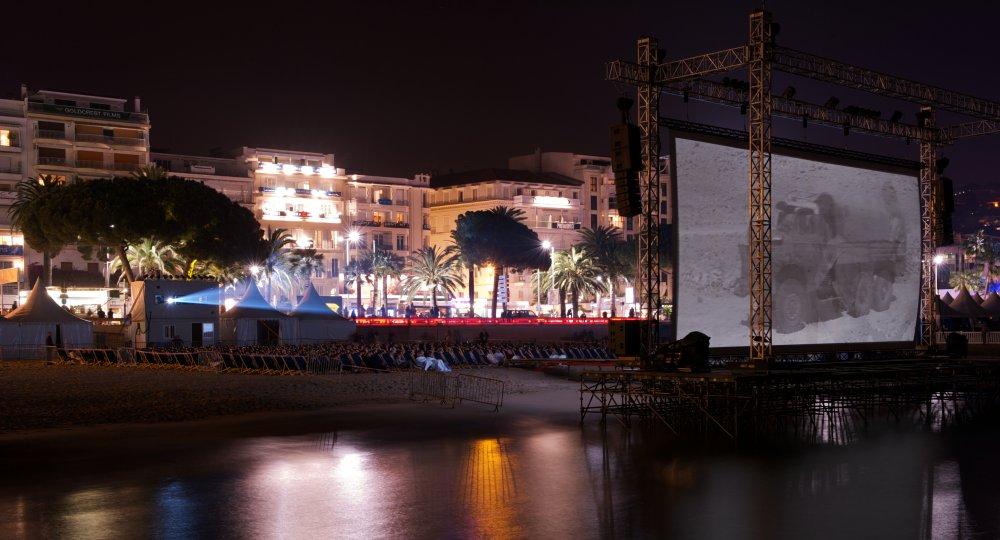 The Cinéma de la Plage at the Cannes Film Festival