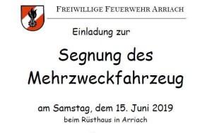 Fahrzeugsegnung MZFA Arriach