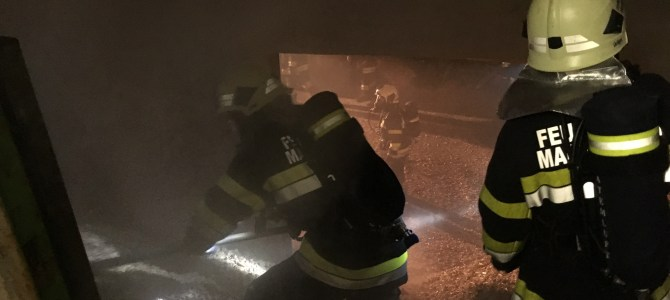 Nächtlicher Brandeinsatz forderte die Einsatzkräfte