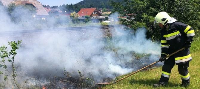 Erhöhte Waldbrandgefahr im gesamten Bezirk Villach-Land
