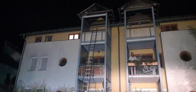 Wohnungsbrand in Weißenstein