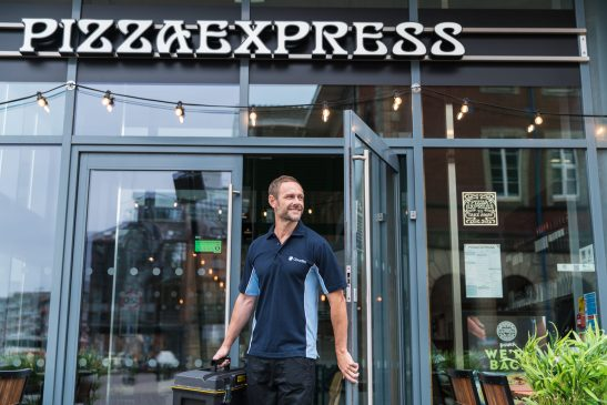 PizzaExpress renews contract with Cloudfm