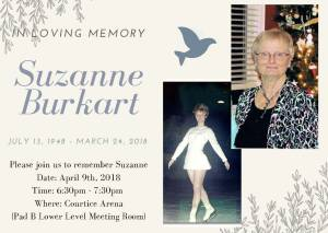 Memorial for Suzanne Burkart