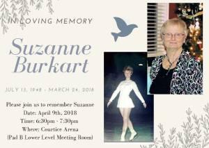 Memorial for Suzanne Burkart
