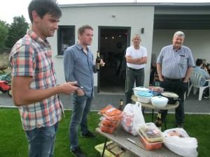 BFZ-Grillen Ende August 2018