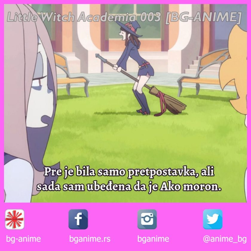 Little Witch Academia 003 Fansub [BG-ANIME]