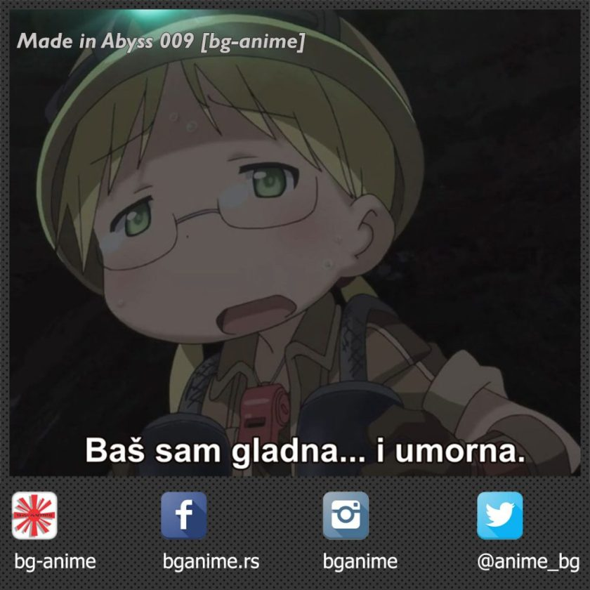 MADE IN ABYSS 009 FANSUB STREAM [BG-ANIME]