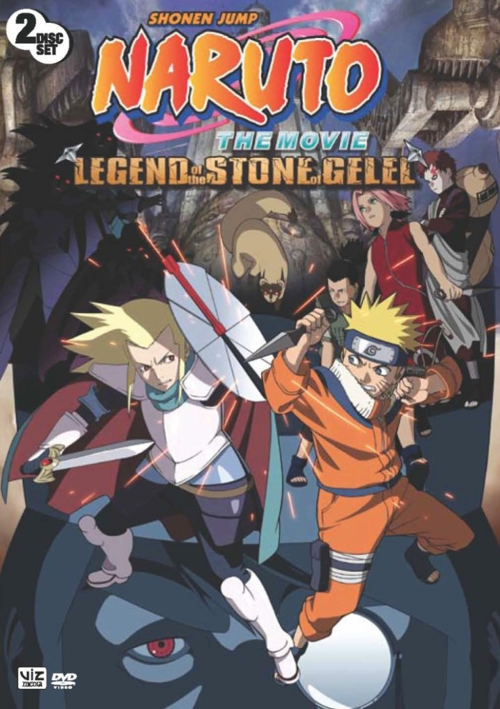 Naruto - Legend Of The Stone Of Gelel