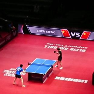 Halbfinale Damen 1 - Cheng Meng vs Zhu Yuling