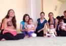 Танци и лекция за мама с бебе