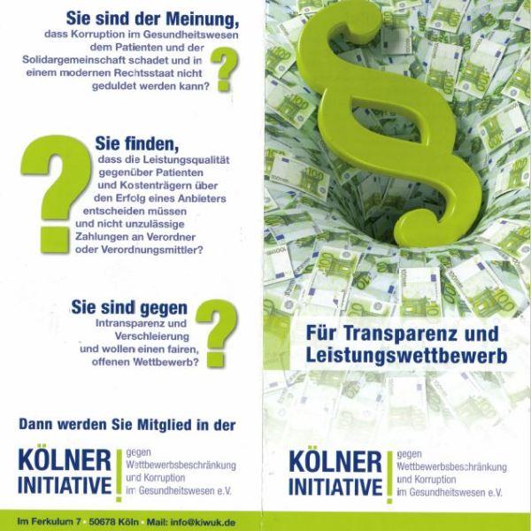 BG-Pflege gegen Korruption