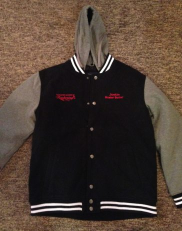 Embroidered Jacket Front