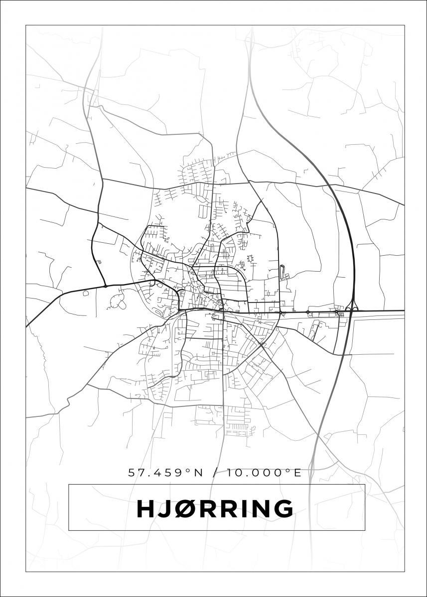 Kart Over Hjørring