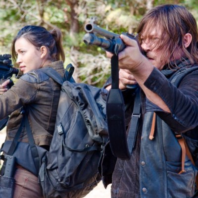 "The Walking Dead 6×14 ""Twice as Far"""