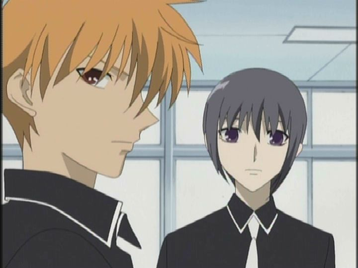 Fruits Basket Kyo And Yuki Fighting Anime Highlight: Fruit...