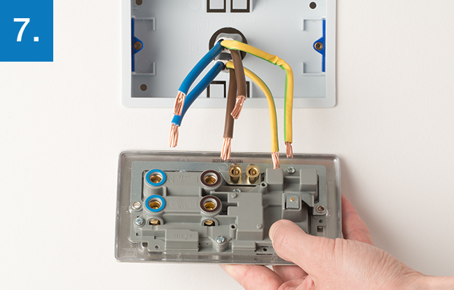 electric cooker wiring diagram standing rigging how to upgrade control outlet | bg electrical