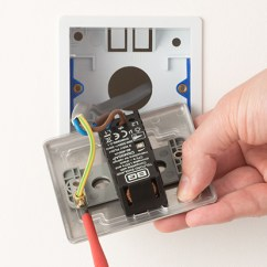 Wiring A Dimmer Switch Uk Diagram Rat Dissection Test Questions How To Upgrade Bg Electrical Accessories Make Sure That The Wires Are Fully Inserted Into Terminal And No Bare Copper Wire Is Visible Tighten Screws Securely Onto