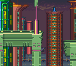 Background HQ Megaman X Intro Stage