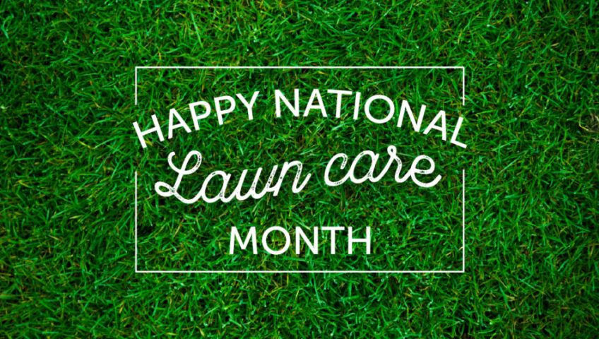 Happy National Lawn Care Month