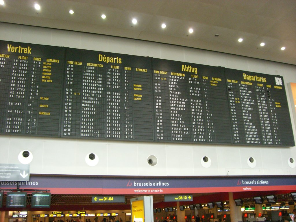 Brussels Airport 03 SEP 2008