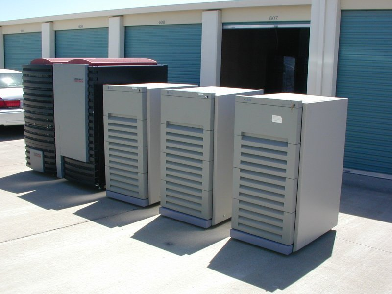 My Cray and Sun 2000's