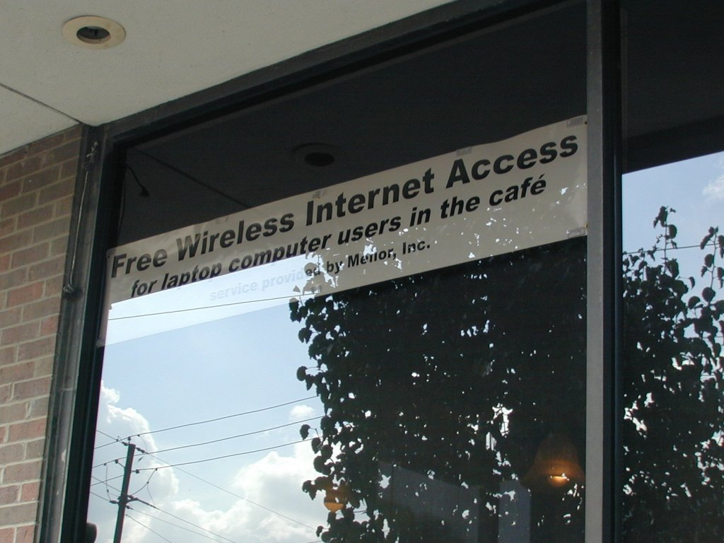 1st Free Public WiFi Spot in Dallas