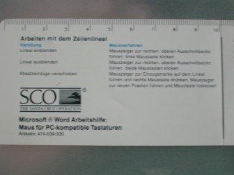 Microsoft Word for SCO Unix