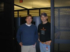 Matt and myself at the Dallas Data Center
