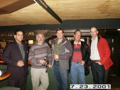 London Pub With Spamhaus' Steve Linford